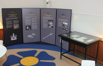 The Court of Claims exhibition, on display until Spring 2013