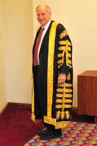 Lord Neuberger to be sworn in ...