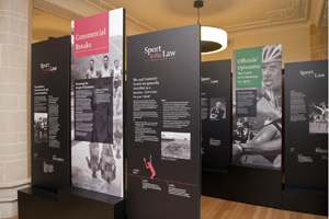 Sport and the Law exhibition
